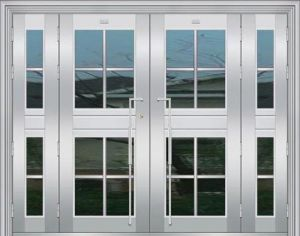 Stainless Steel Flat Door (XY-7033)