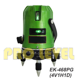Self-Leveling 4V1h1d Green Laser Level (SK-468PG) pictures & photos
