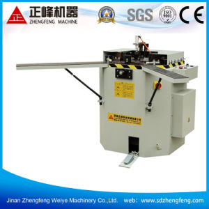 Corner crimping machine for aluminum window & door
