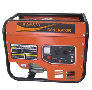 2 Kw, 163cc Gasoline Generator with 360g/Kw. H pictures & photos