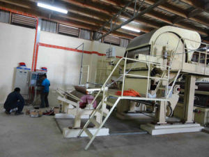 Small 1880mm Paper Making Machine, 5tpd Toilet Tissue Paper, Factory Price pictures & photos