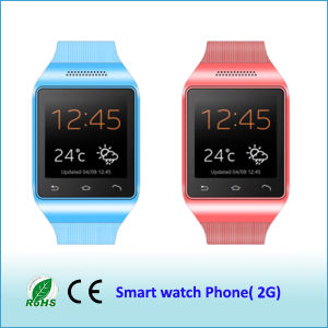 Low Price Smart Watch Pone Mtk6260A GSM850/900/1800/1900MHz with Four Color