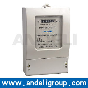 Three Phase Electronic Electric Meter (DTS480) pictures & photos
