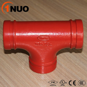 FM UL Ce Approval Reducing Threaded and Grooved Tee pictures & photos