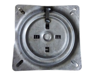 Square Swivel Plate Auto-Return 60 Degree, Heavy Duty Bearing