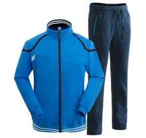 Custom Cotton Polyestermens Gym Fitness Wear Plain Training Tracksuit