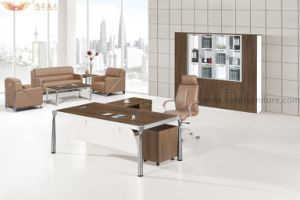 Wholesale Modern Executive L Shape Office Table for Office Furniture pictures & photos