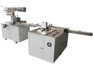 Pen Pencil Paper Sleeving and Cellophane Overwrapping Machine Line Model (SY-60) pictures & photos