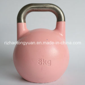 8kg 17lb Steel Competitive Kettlebell pictures & photos