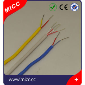 High Temperature 2.5mm Square Silicone Rubber Thermocouple Extension Wire pictures & photos