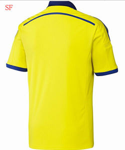 2014/2015c Helse Yellow Soccer Jersey Football Jersey pictures & photos