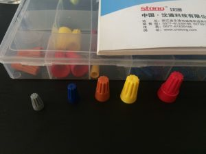 Ssp Series Screw Press Line Cap Screw on Wire Connectors Terminal pictures & photos