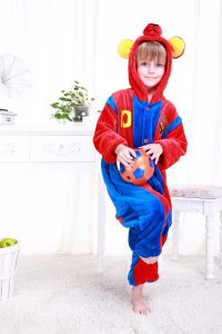Original Kuka Bcn Children′s Cartoon Animal Onesie Pajama-Messi Barcelona-Jumpsuit-Football Series