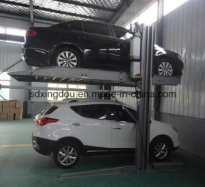 Hydraulic Two Post Car Parking System/Car Lift for Basement pictures & photos