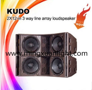 Kudo Dual 12′′ 3-Way Professional PA Audio System pictures & photos