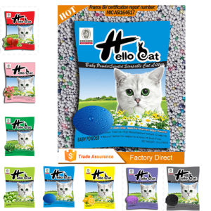 Pet Product _Bentonite Cat Litter Product