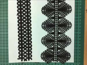 Black Color High Quality Polester Lace pictures & photos