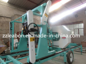 Wood Cutting Electric Horizontal Portable Sawmill for Sale pictures & photos
