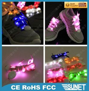 Hot Sale Promotional Electronic LED Shoelace