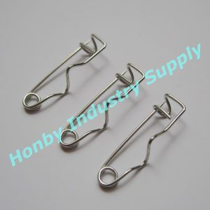19mm Silver Steel Crimp Safety Pin