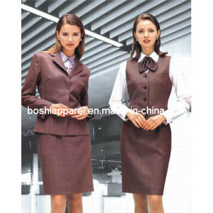 Ladies′ Formal Suit of Long Sleeve OEM Service (LS-009) pictures & photos