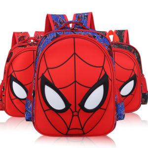Kids Boys Backpack Elementary School Book Bag Spiderman Face Schoolbag
