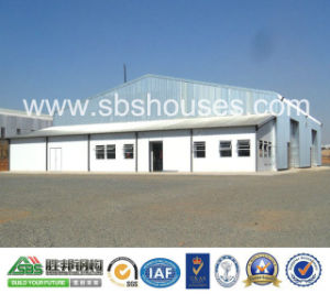 Steel Sheet Wall and Roof Steel Structural Steel Frame Workshop