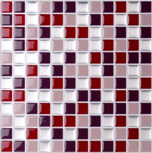 Mosaic For Home Decoration Smart Self Adhesive Wall Tile Magic Marble Gel Sticker