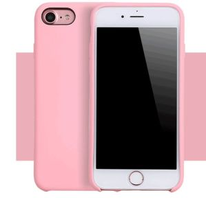 pretty nice ded27 a0c1d Liquid Silicone Case for iPhone X iPhone 8 iPhone7 iPhone6