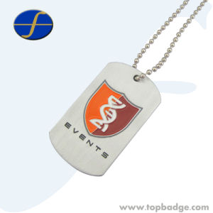 Engraved Embossed Custom Metal Dog Tag with Custom Shape (FTDT2023A) pictures & photos
