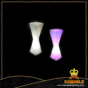 Outdoor Decoration Waterproof LED Twisted Flower Vase (F004) pictures & photos