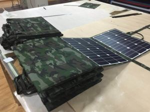 Outdoor Solar Blanket 18V Portable 250W Folding Solar Panel Camping pictures & photos