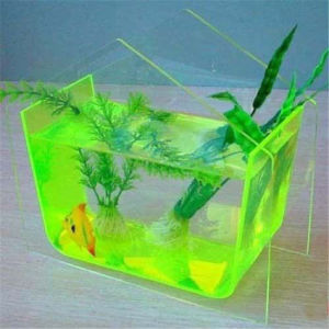 Wall Mounted Fish Bowl 5 Gallon Acrylic Mini Tank pictures & photos