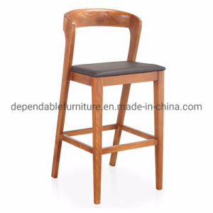 Cool Simple Designed Wooden Structure Furniture Comfortable High Bar Stool Machost Co Dining Chair Design Ideas Machostcouk
