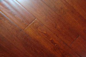 Maple Solid Handscrapped Wood Flooring (FMF-FM03)