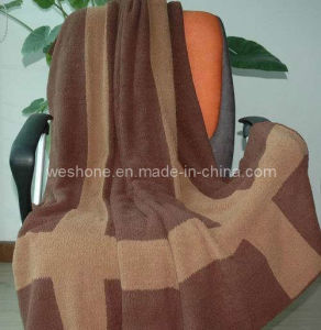 Polyester Blanket, Knitted Blanket Pb-K0907 pictures & photos