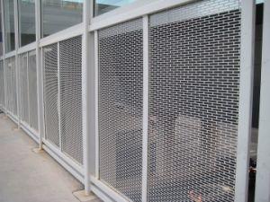 China Perforated Metal Railing Cladding China Perforated