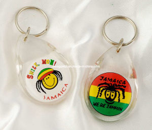 Acrylic Keyring for Promotion Gift, Promotional Keychain pictures & photos