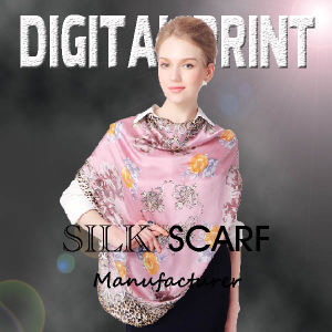 High Quality 100% Poly Scarf Digital Printed pictures & photos
