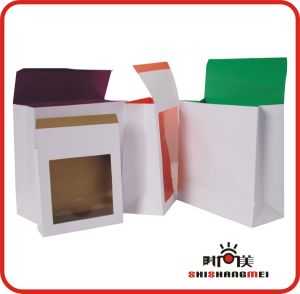 Paper Bag With PVC Window (SSM88)