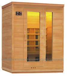 Residential Infrared Sauna House for 3 People (XQ-031H)