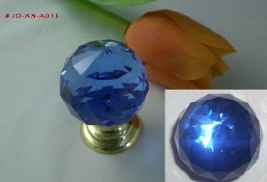 Blue Crystal Brass Knob (JD-KN-A013) pictures & photos
