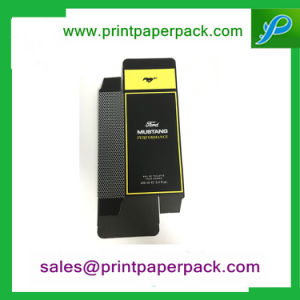 Fashionable Best Selling Art Paper Paper Foldin Mustang Perfume Box with Liner pictures & photos