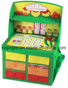 Kids Storage Box with Side Pockets Kitchen Design