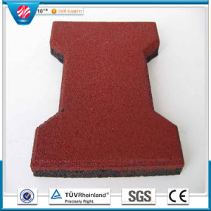 Water Proof Dog-Bone Rubber Tile Pavers