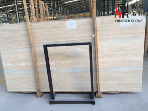 Natural Stone Sliver Travertine for Flooring Tiles