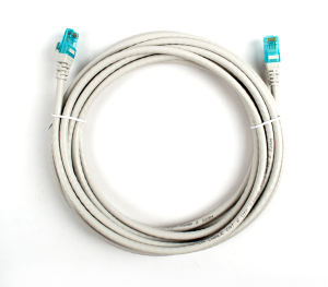 CAT6 7*0.2mm UTP Patch Cord 5m Grey pictures & photos
