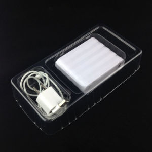 disposable clear plastics electronic tray package(PVC package) pictures & photos