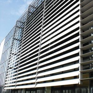 Aluminum Sun Louver & Shutter for Exterior Protection Structure pictures & photos