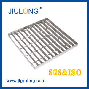 Serrated Steel Grating Welded With Round Bar pictures & photos